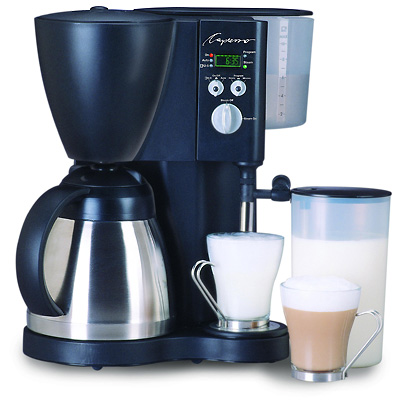 Capresso Coffee Maker With Frother : Espresso - Capresso CoffeeTEC 471 Coffee Maker Milk Frother Black 471.01